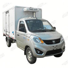 Mini refrigerator cold freezer transport truck 2.5 tonne GVW Refrigerated Box Vans for sale