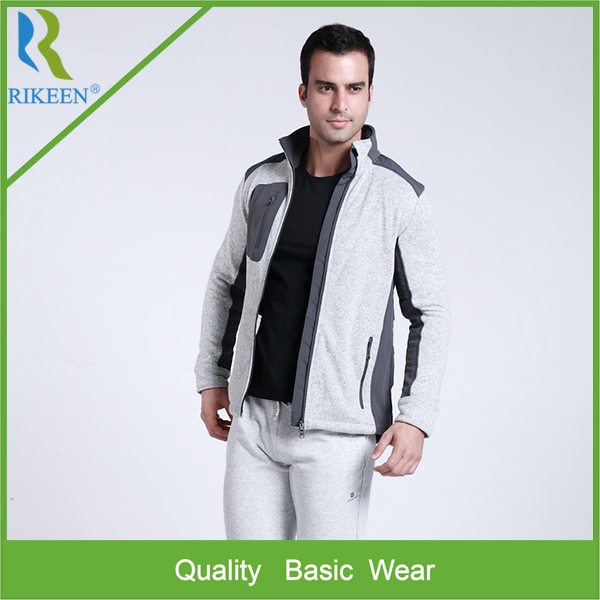 Made in China fashion men polar fleece jackets