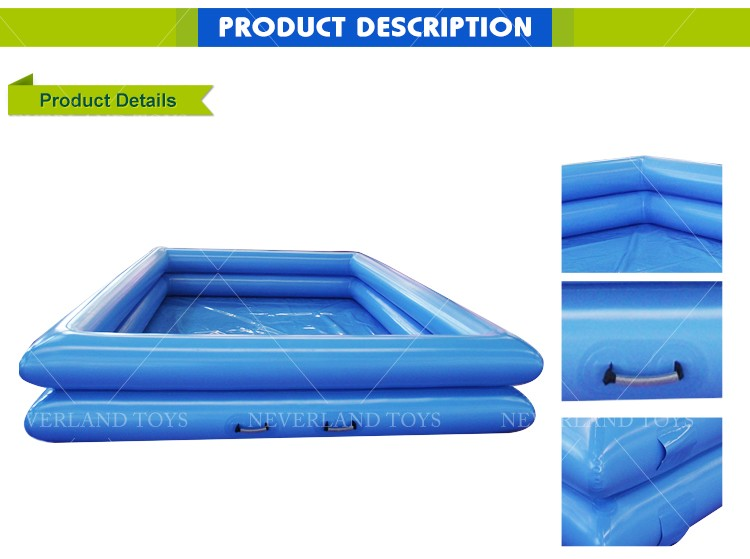 Lap Customized Design Adult Swimming Inflatable Kids Pool for Sale