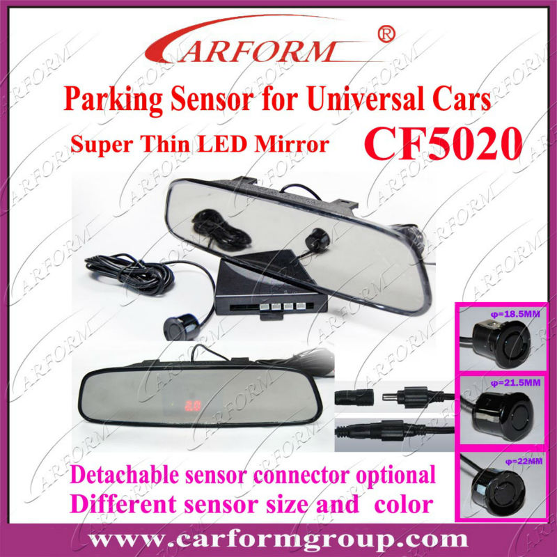 CF5020 led parking sensor system car reverse backup radar manufacturer in Guangzhou