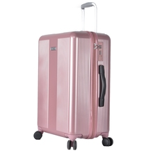 decent american tourist brand standard abs luggage with travel luggage