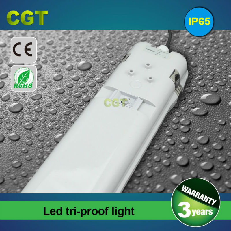 LED tube housing lighting batten fitting