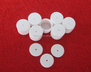 white refractory high alumina ceramic boat