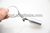 2014 latest style 3d metal keychain