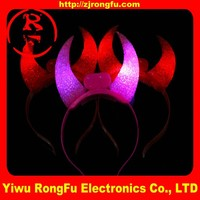 Light Up LED Devil Horns Headband led headband light up headbands