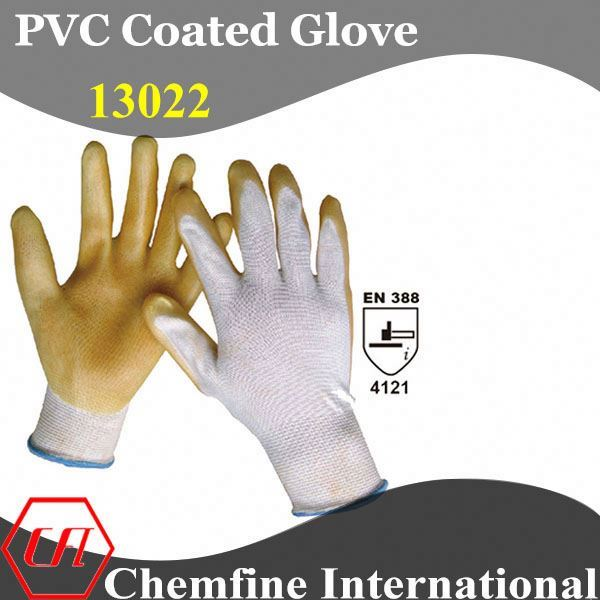 cotton spandex 1x1 rib knitted fabric glove