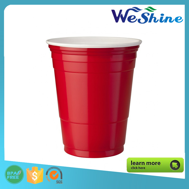 Wholesale Red Plastic Party Solo Cup For Cold Drinks