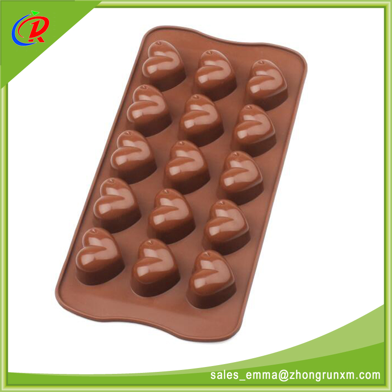 Food Grade Safe Handmade Baking Silicone Chocolate Mould