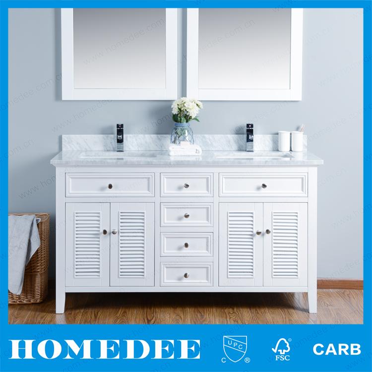 2.Detail For Homedee American Home Building Waterproof High Quality Used  Bathroom Vanity Cabinets