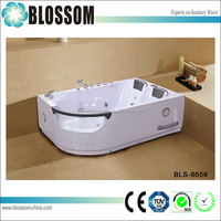 hot sale 2-person whirlpool massage portable bathtub for adults