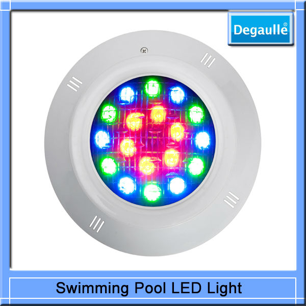 China Hot Sales Solar Pool Fence Lamp ,Submersible LED Pool Lights
