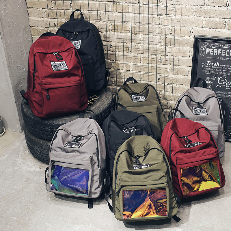 2017 Latest Wholesale Unique Design Teens Colleges Students Backpack Satchel Bags For Friends Couples