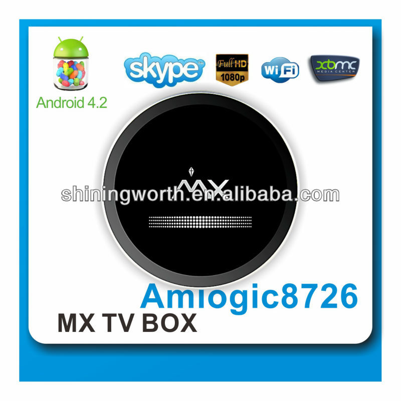 full HD 1080p media player with android 4.2 OS