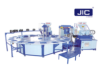 Two Color PVC Air Blowing Slippers Making Machine (JIC720D)
