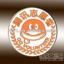 Round Shape Company Badge With Logo-- made in China