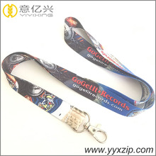 cheap custom design your own lanyard no minimum for key and mobile phone