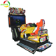 Coin operated sky troopcr video arcade simulator racing car game machine