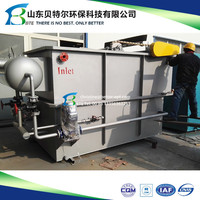 Dissolved air floatation DAF system for River Water Treatment