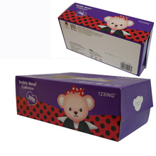 2 ply flat box facial tissue