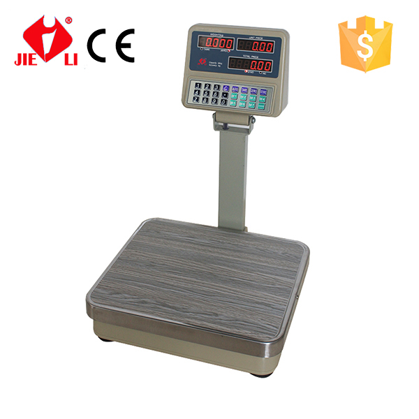 50kg TCS Electronic Price Platform Scale with Wood <strong>Grain</strong>