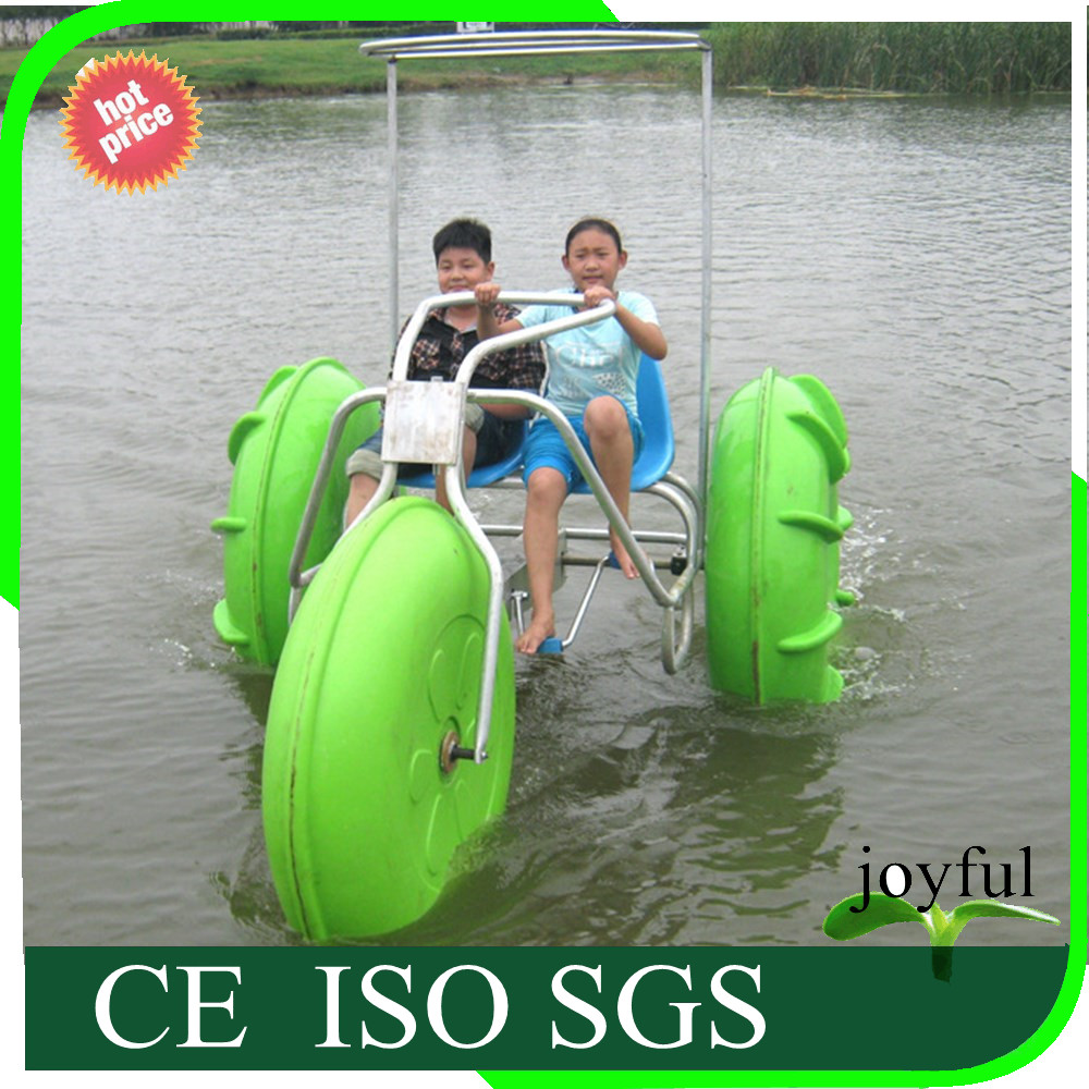 [Joyful rides!!!]Hot sale 3 bigs wheel water tricycle bike with the PE materail