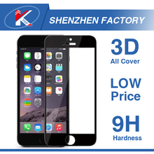 Hot Waterproof Clear Blue Film Kristall Liquid Tempered Glass Screen Protector for iPhone6 Universal Color Protector for iPhone7