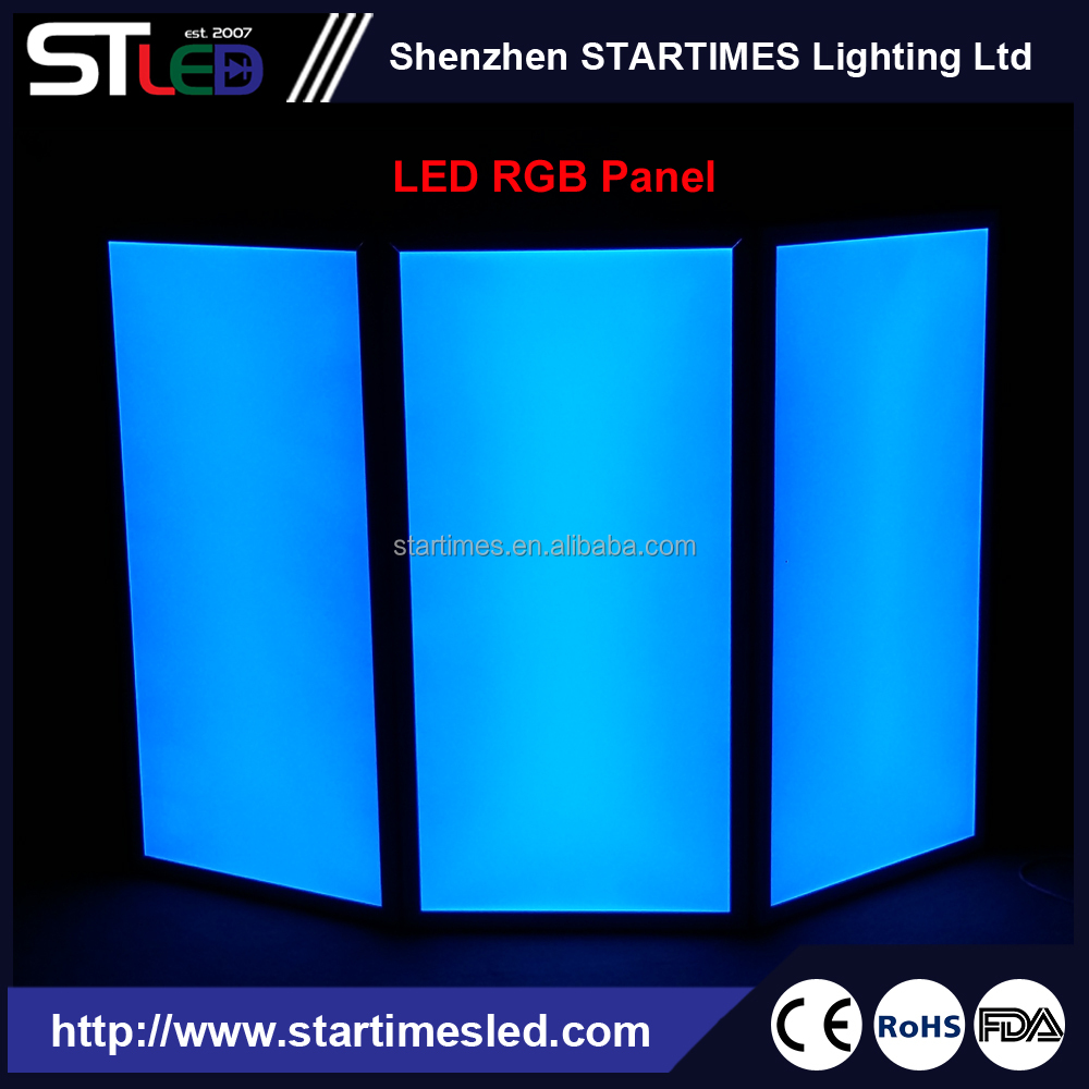 7 Colors RGB Led Stage panel Light, DJ Screen Facade panel, Club Pub Disco DJ Light