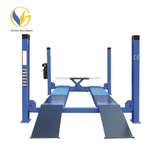 3600 kg Best Selling Four Post Alignment Cheap Car Lift with CE