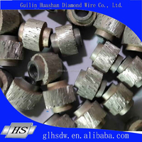 dry-cut diamond wire beads for marble quarry cutting dia.11mm