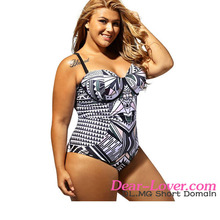 Plus Size Sexy One-piece Swimsuit Sex Tawny UnderwireJapanese Swimsuit
