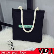 promotional canvas rope tote bag canvas bag rope