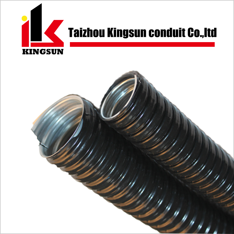 JSH type electrical steel pvc coated gi flexible pipe