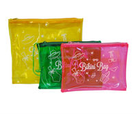 Hot selling swimwear and bikini PVC packaging bag