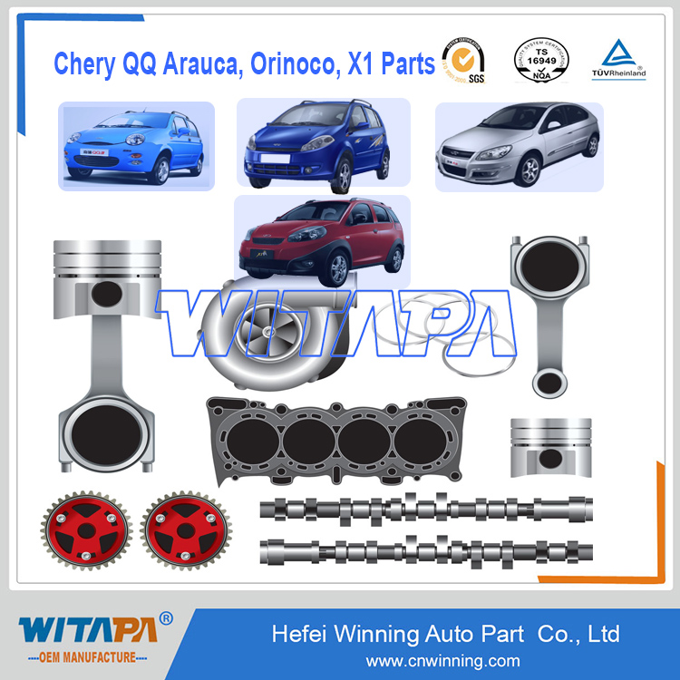 OEM Genuine/Original Auto Spare Parts For Chery car A1 Arauca Orinoco X1 QQ