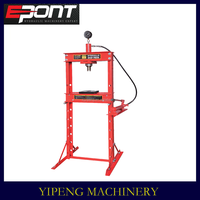 High Lift Vehicle Maintenance Tool 12T shop press with gauge