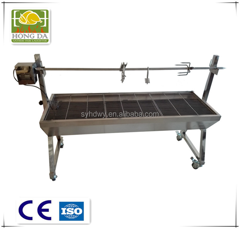 Large bbq rotisserie, spit roaster,Large barbecue grill