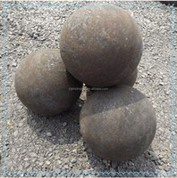 85mm grinding forged steel ball for mine plant