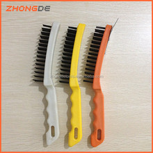 plastic handle steel wire brush 515