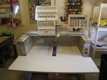 SWF/B-T1501, 15 needle Commercial Embroidery Machine For Sale