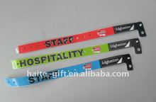High quality Cheapest tyvek wristband with your designs