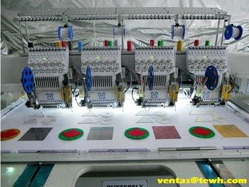ButterFly B-1204B/T embroidery machine (bordadora)