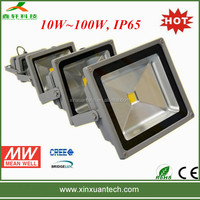 Bridgelux chip high power 12 volt 50w flood light led ip65