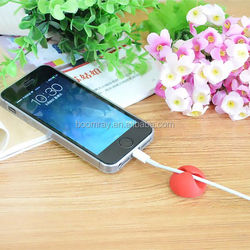 Hot Sale new shape plastic round electric adhesive wire rope holder USB data plastic wind twisters