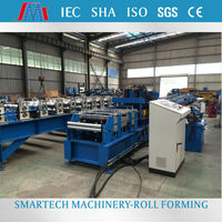 Hot sale galvanized sheet purline structure housing frame purline roll forming machine
