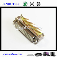 high quality machined pin DB Connector dip for laptop video d sub socket connector