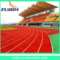 rubber tartan running track sport stadium athletic rubber track synthetic pitch track