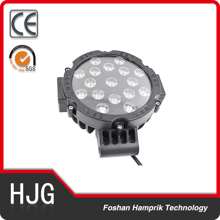 51W new arrival LED light off road 4Wd truck working light