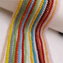 decoration lampwork crystal beads chinese wholesale glass beads crystal beads for jewelry making