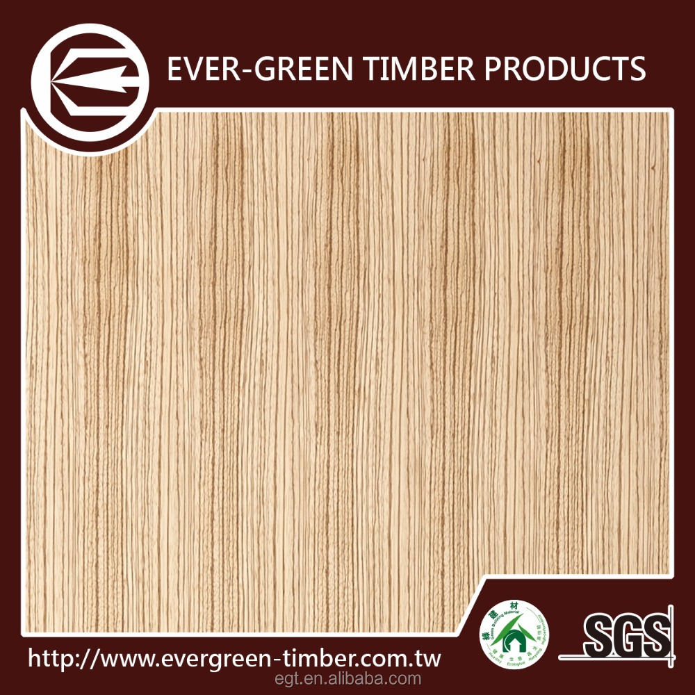 1220x2240 zebrawood decorative wall panel for fancy plywood