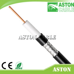 Hot Sale Strong Cable Coaxial Cable RG11 f Connector